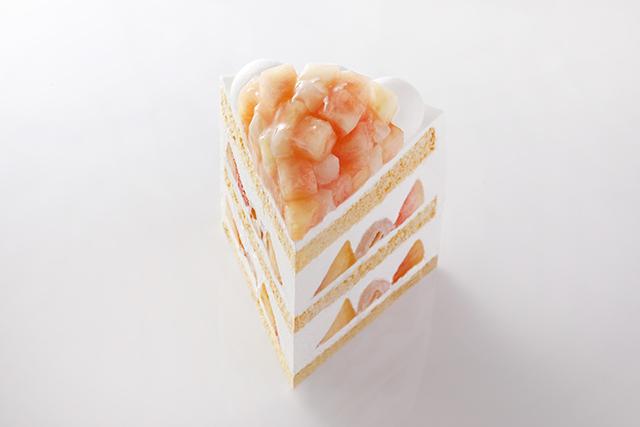 ホテルニューオータニ「新エクストラスーパーピーチショートケーキ」