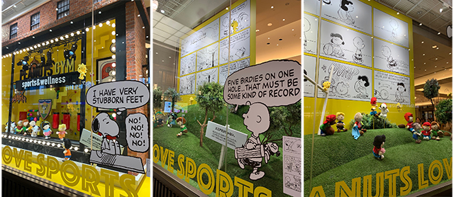 阪急うめだ本店「PEANUTS GYM sports & wellness」