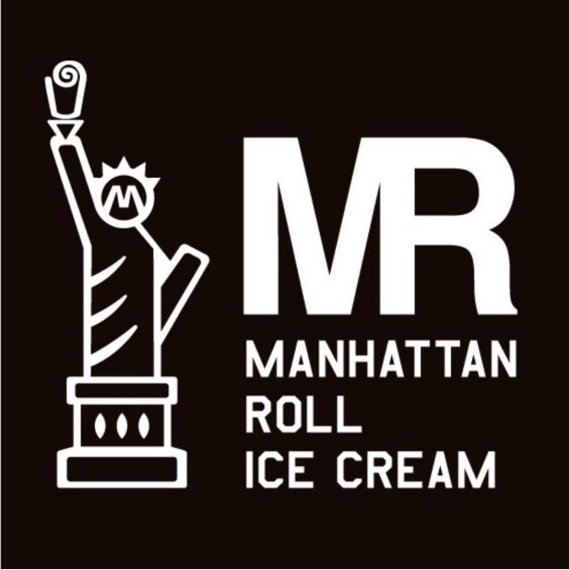 マンハッタンロールアイスクリームロゴ