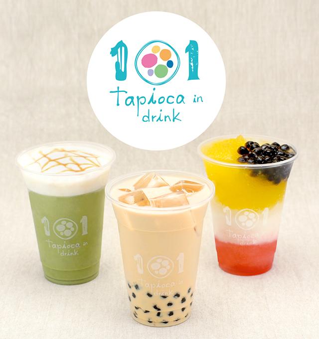 大阪で人気のタピオカ店「101(ワン・オー・ワン)」が奈良と高知にオープン