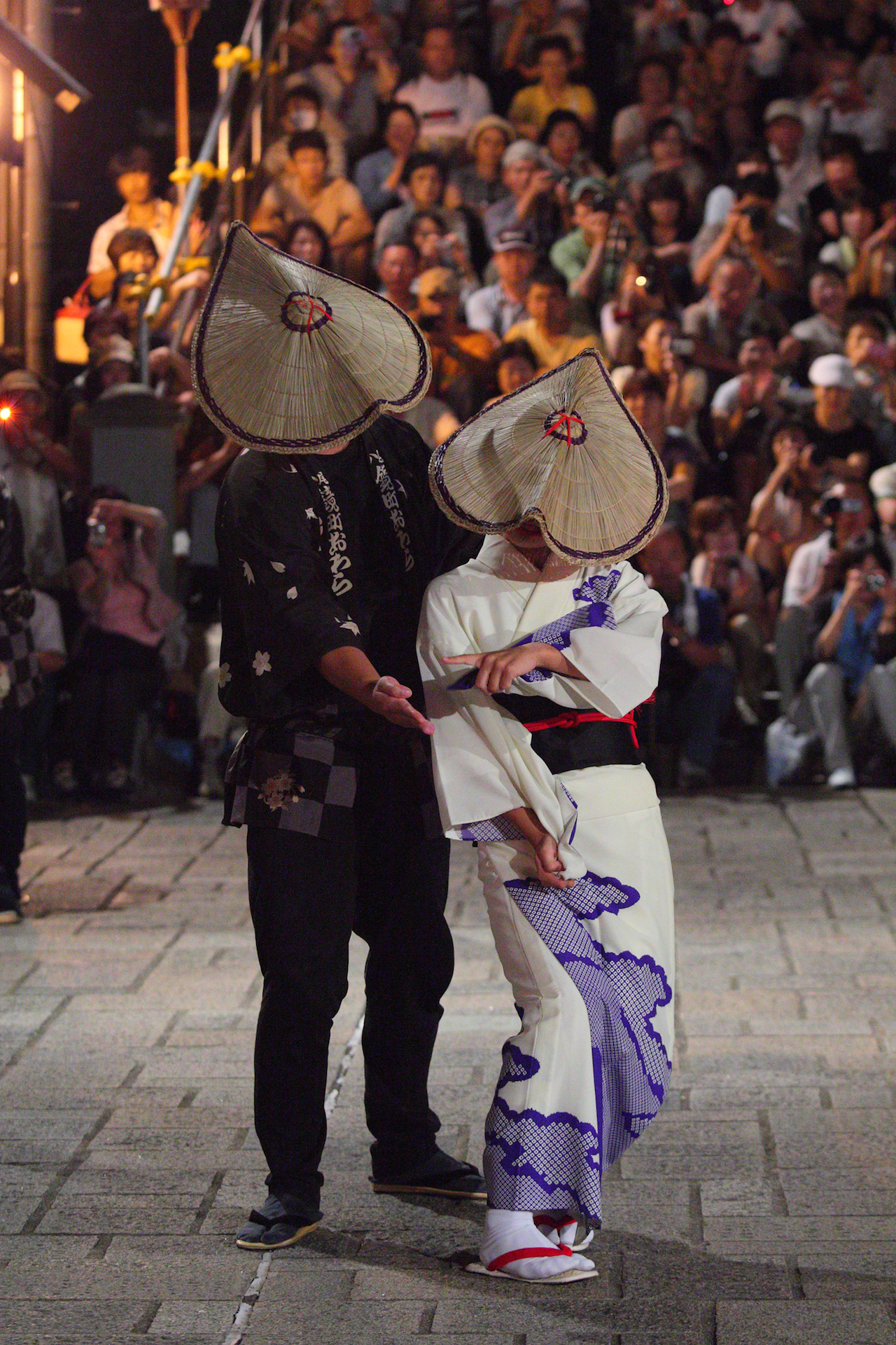 おわら風の盆 男女の踊り