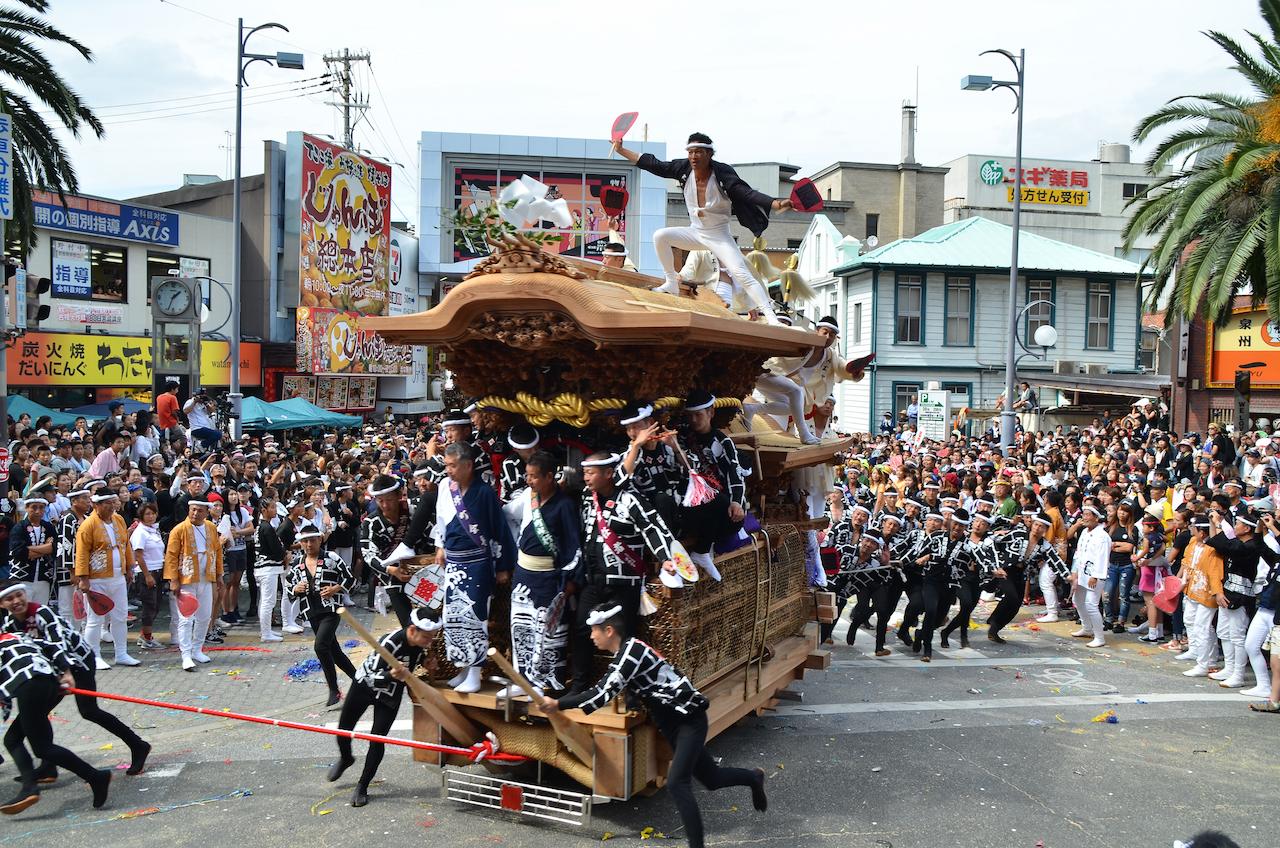 だんじり祭り 岸和田地区 堺町