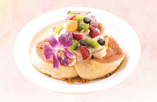 Hawaiian Café&Restaurant Merengue(メレンゲ)たまプラーザ店「パンケーキ」