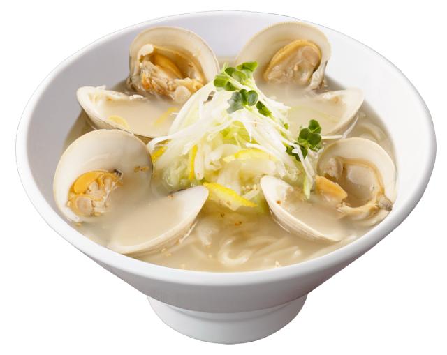 柚子塩大貝湯麺