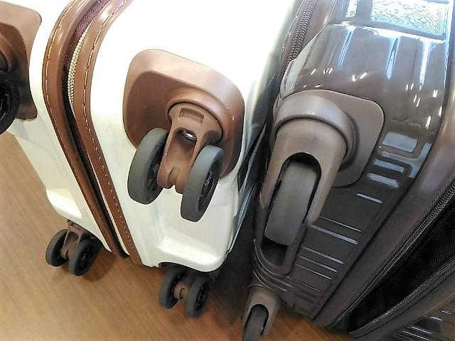 スーツケースのよくあるトラブルキャスター