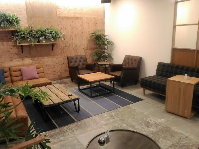 Mash Café & Bed NAGANO(マッシュ カフェ&ベッド ナガノ)ラウンジ4