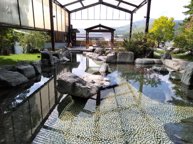 白樺リゾート池の平ホテル温泉大露天風呂