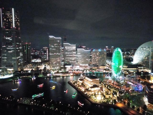 アパホテル&リゾート横浜ベイタワー夜景