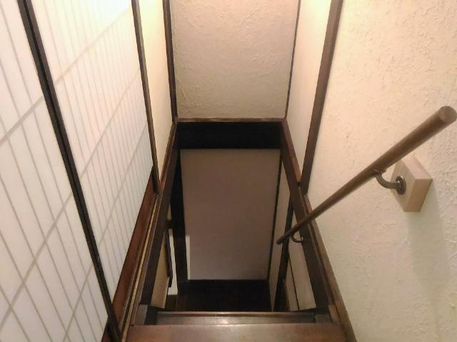 バケーションレンタル階段
