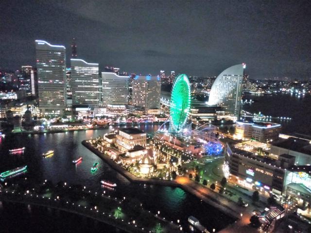アパホテル&リゾート横浜ベイタワー夜景2