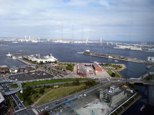 アパホテル&リゾート横浜ベイタワーレストラン眺望