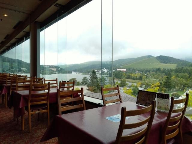 白樺リゾート池の平ホテルレストラン