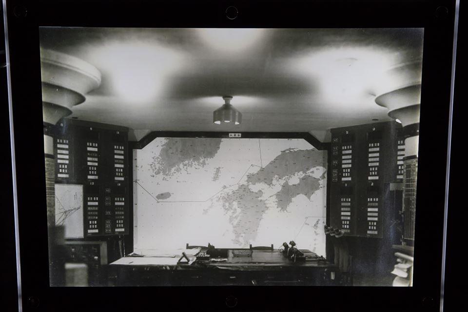 防空指揮所 作戦室