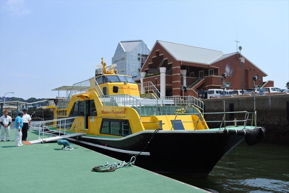 SASEBO軍港クルーズ船