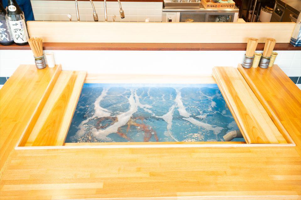 熱海銀座 おさかな食堂 内観