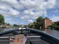 アムステルダム近郊 ハーレム 風車 運河クルーズ