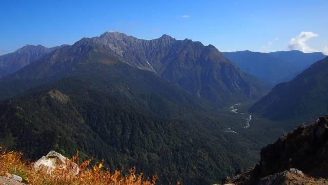 焼岳山頂から