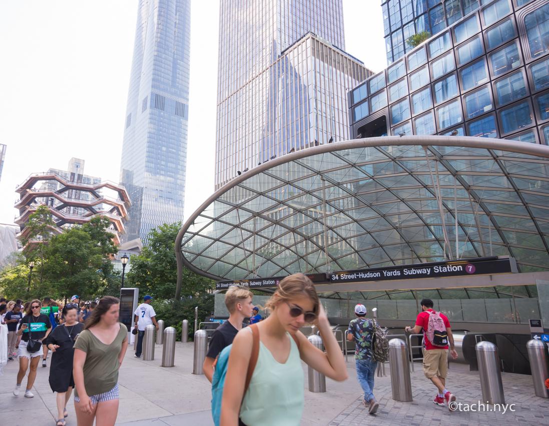 地下鉄駅 34st-Hudson Yards