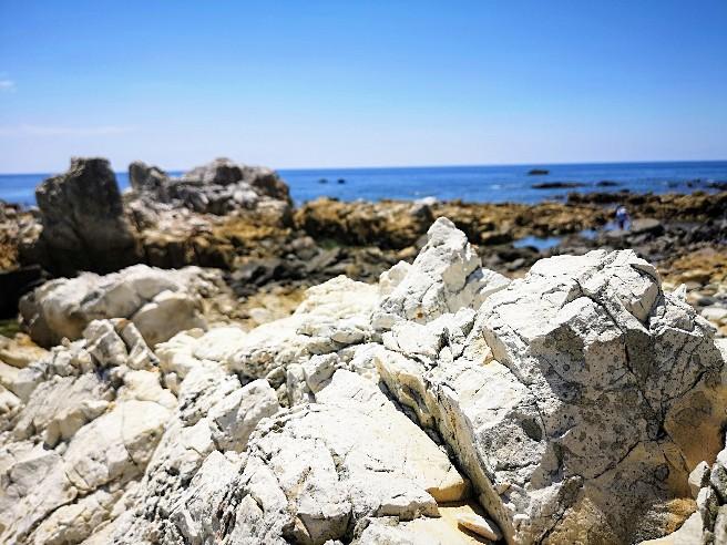 白岩崎の岩
