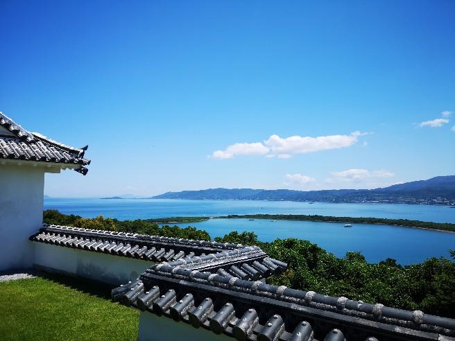 富岡城景色