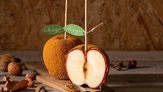 a la ringo(あら、りんご。)「りんごキャラメルキャンディー」