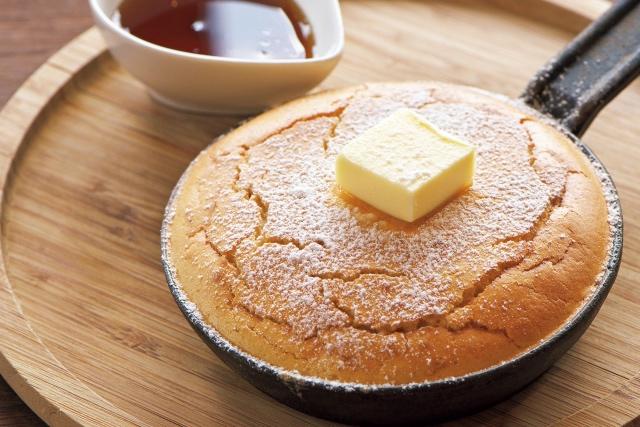 スペルト小麦鉄ぱんパンケーキ