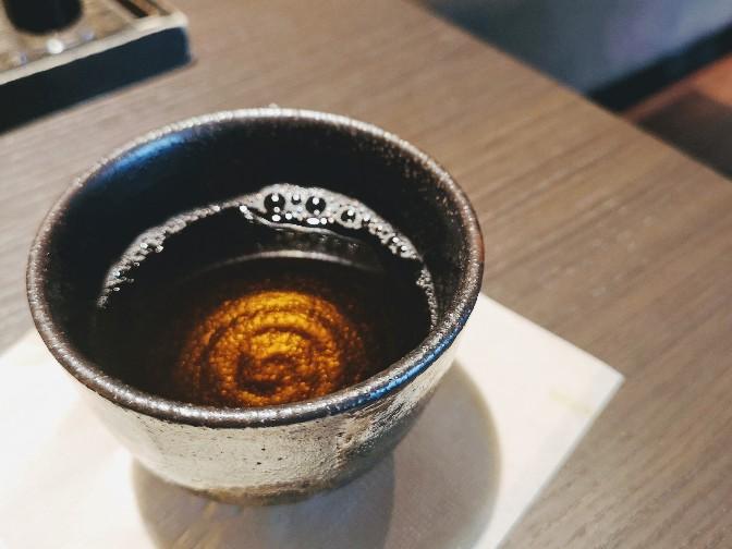 茶寮翠泉食後のほうじ茶