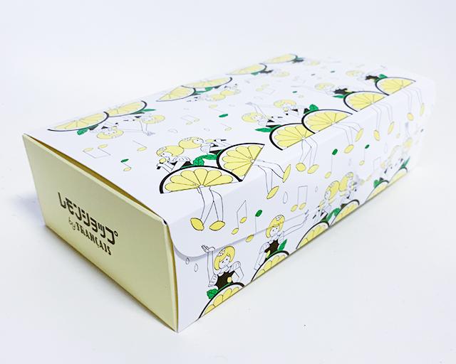 <生>レモンケーキは可愛いパッケージに入ってきます