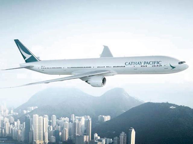 阪急交通社ビジネスクラスランキング「2位キャセイパシフィック航空」