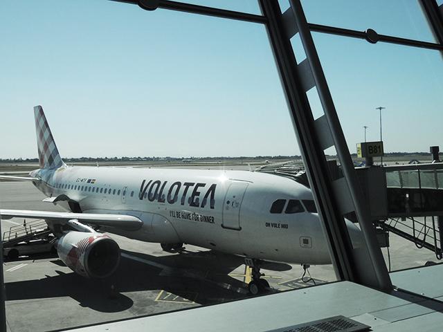 ボロテア航空(Volotea Airline)リヨン・サンテグジュペリ空港