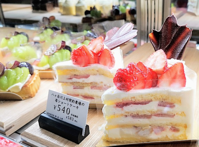 YATSUDOKIショートケーキ