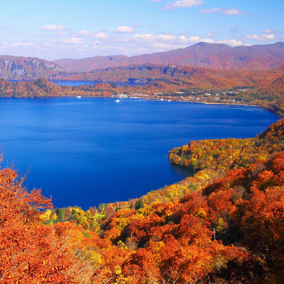 秋田県 十和田湖