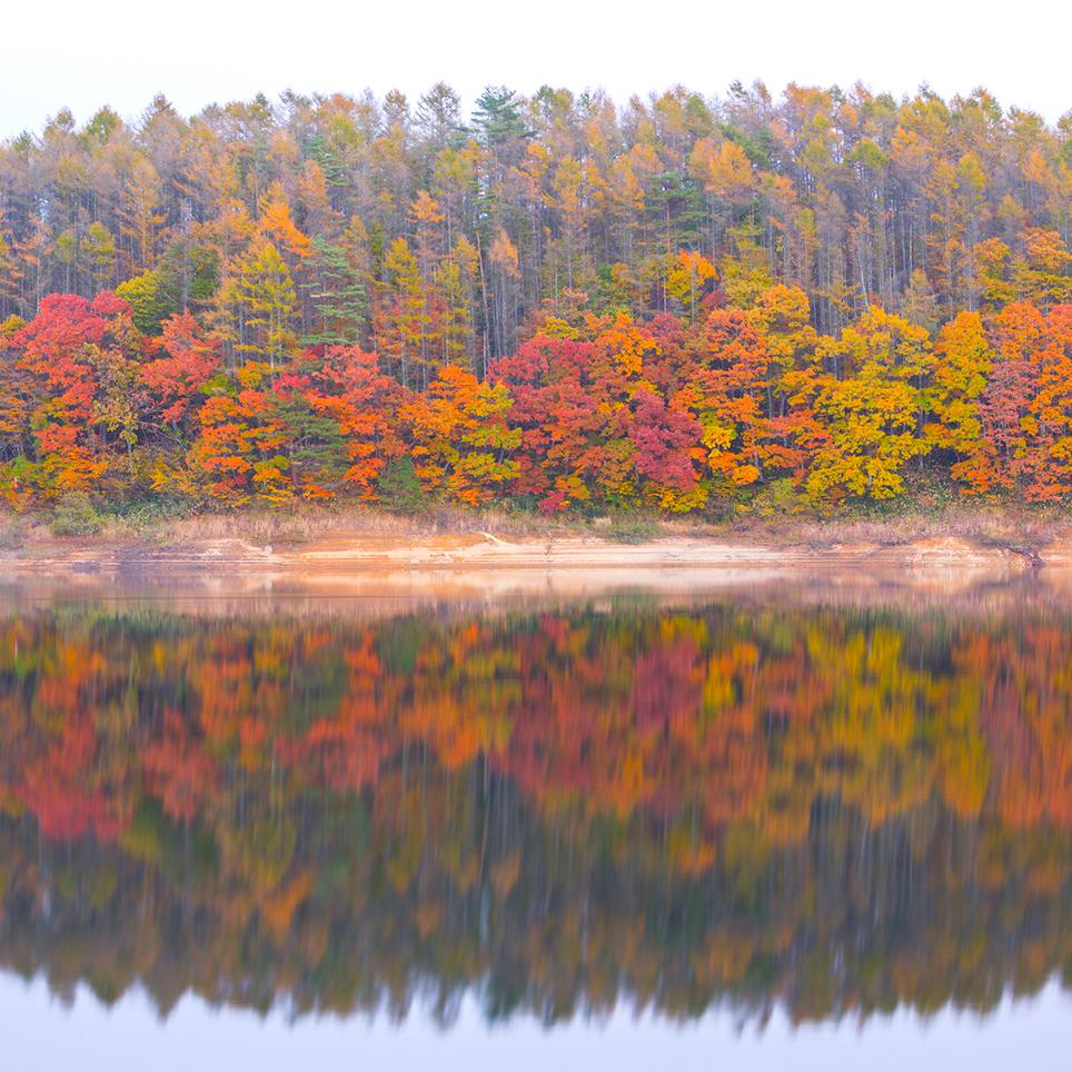 岡山県 恩原湖