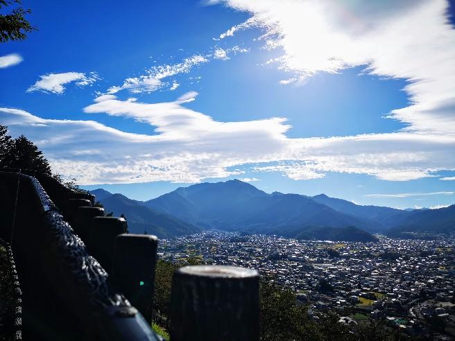 新倉山浅間公園からの眺め
