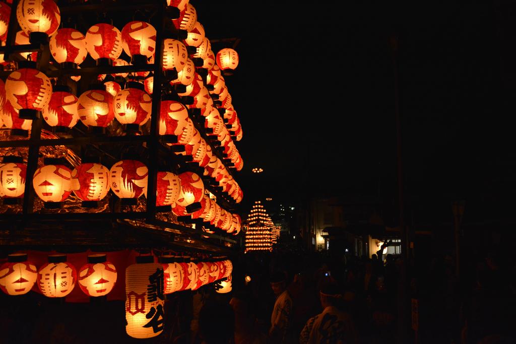 福島県 二本松の提灯祭り
