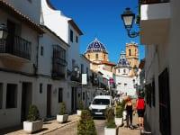 スペイン・アルテア(Altea)「サン・ミゲル通り(carrer Sant Miguel)」