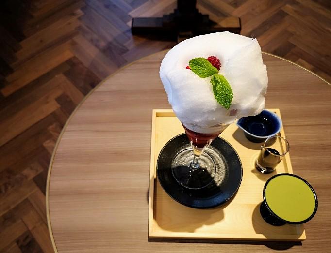 イシヤ日本橋パフェ日本酒