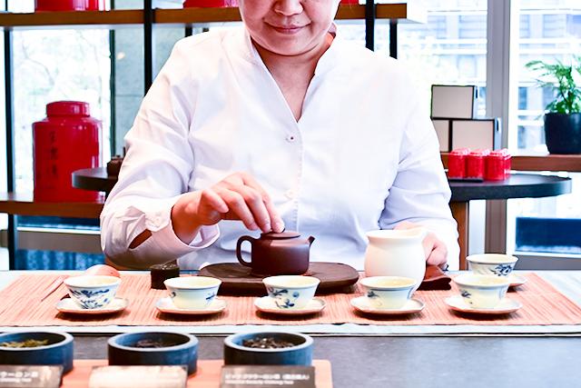 台湾茶を学ぶ教室も今後は開催していく