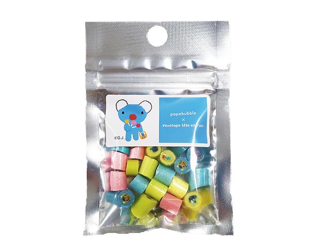 「パパブブレ」 ×「ペネロペ」コラボキャンディ