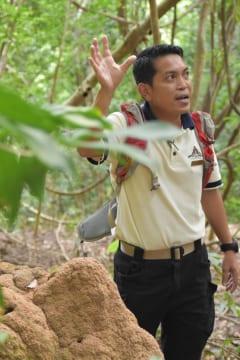 親日派のジャングルガイド・Rizanさん