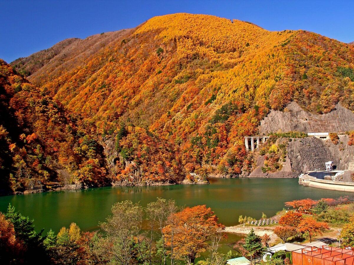 水殿ダム湖