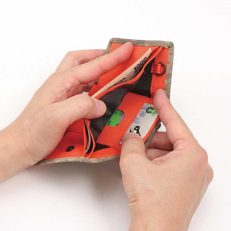 coruri CAMPER 小型財布