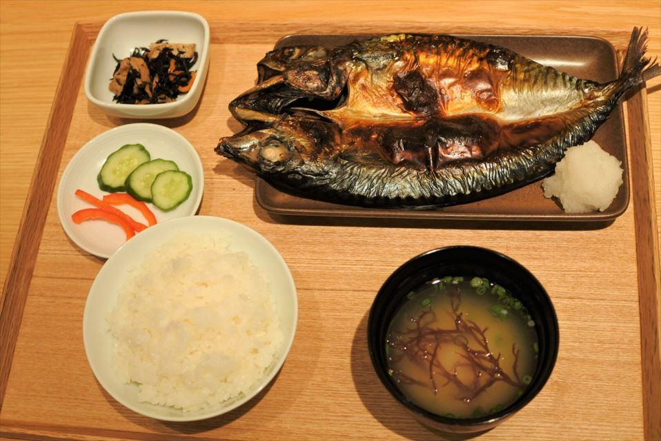 MUJI Diner 焼き魚定食