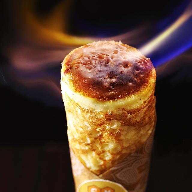 Cheeseとはちみつ Esola池袋店「ブリュレチーズクレープ」
