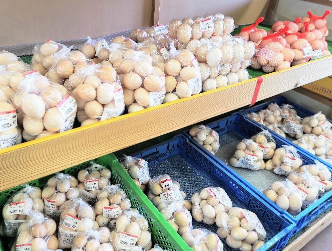秋川ファーマーズセンター新鮮卵