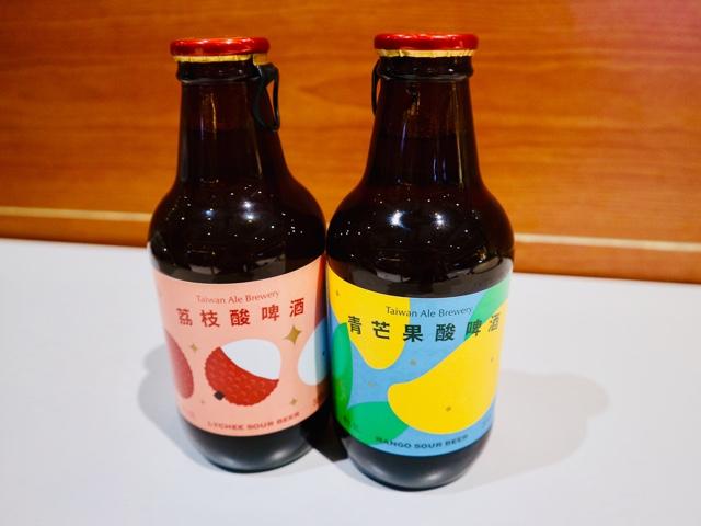 台灣艾爾の瓶入りフルーツビール