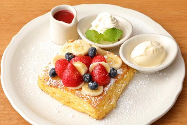 オリジナルパンケーキハウス「とろっとろ厚切りフォカッチャのフレンチトースト」