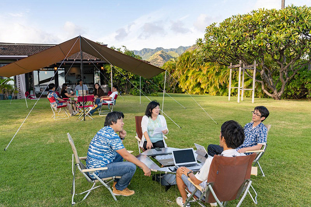 CAMPING OFFICE HAWAII