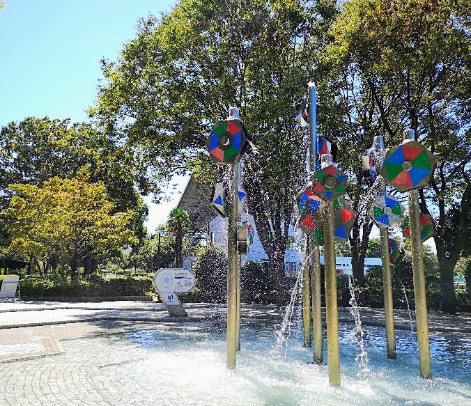 国営昭和記念公園噴水