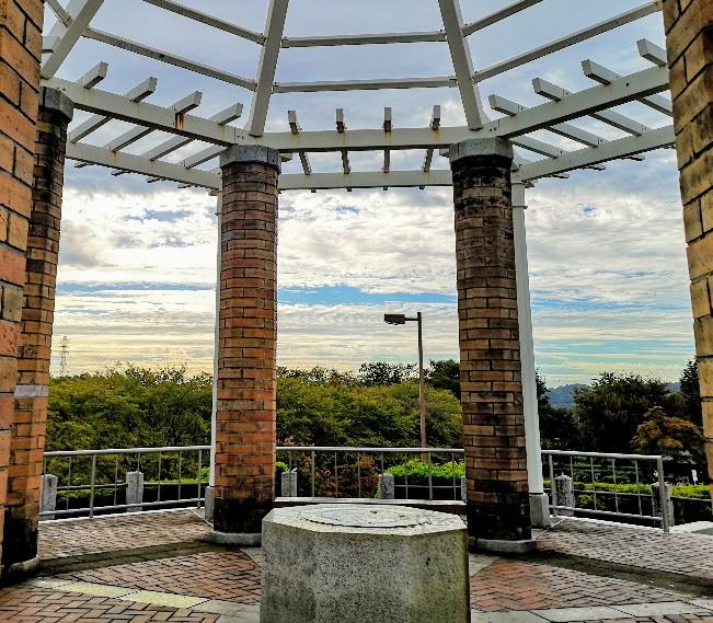 都立秋留台公園展望台からの眺め